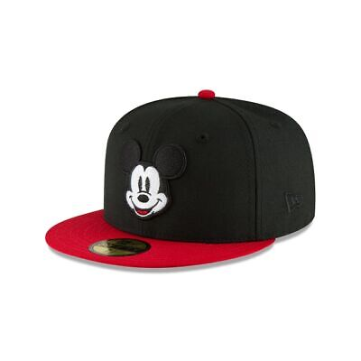 9dcfc668 DISNEY MICKEY MOUSE New Era 59Fifty Fitted Hat sz. 7-1/4 Limited ...