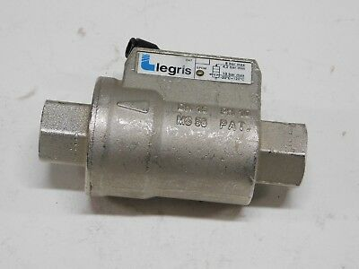 """Legris EPDM Piloted Double acting 1/2"""" axial valve"""