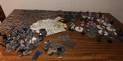 PRODOS * WARZONE * WARHAMMER * Job Lot * SOLDIERS (NOT METAL) Parts - Spares