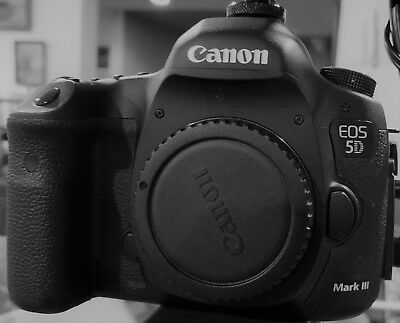 Canon EOS Mark III 22.3MP digital SLR Camera Black with multi accessories
