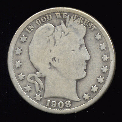 1908-D  ...  Better Date  ...  Barber Half Dollar (236-212)  FREE SHIPPING