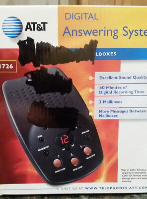 AT&T Digital Answering System 1726