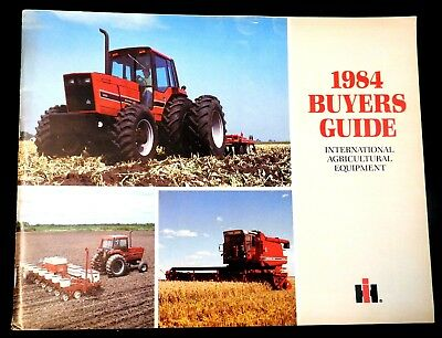 1984 Buyers Guide International Agriculture Equipment