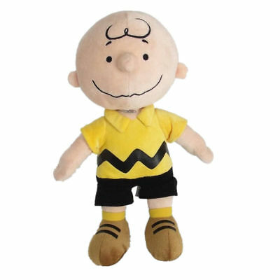"""Peanuts Charlie Brown Kohls Cares Plush Doll Stuffed Soft Collection Toy 9"""" Gift"""