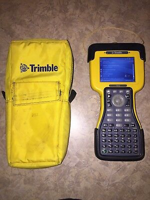 Used Trimble TSC2 Data Collector, Survey 12.45 Case Robotic Station GPS Great!