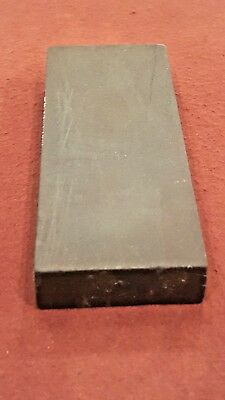 Norton Crystolon combination sharpening oil stone # JB45 knife razor hone smooth