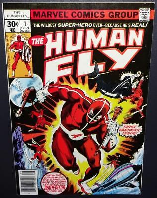 The Human Fly #1 1977 Mid-grade O/1st app Human Fly; Spidey appearance Only $4