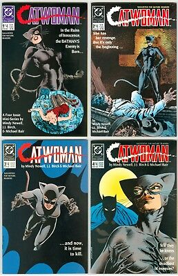 Catwoman, Vol. 1 Set #1 2 3 4 1st Prints VF or Better Free Ship!