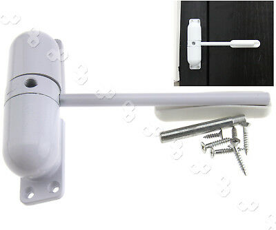 Fire Rated Door Closer Adjustable Spring Loaded Auto Closing Surface Mounted