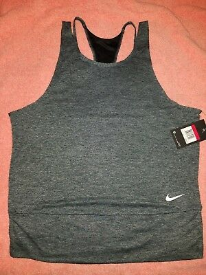 Nike Womens Dri-Fit Elastika Training Tank Top Shirt