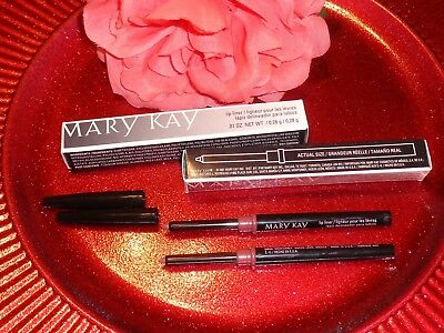 LOT OF 2 Mary Kay DUSTY PINK Lip Liner Retractable Twist Up Mechanical LipLiner