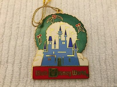 Walt Disney World Parks Icons Metal Christmas Ornament Walt Disney Productions