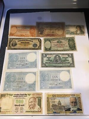 Lot Of World Banknotes 7