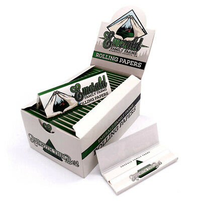 MA*CONHA HEMP Rolling Papers 78*44mm 50 Booklets=1600 leaves smoking