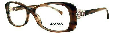 ~ CHANEL ~  womens eyeglasses ~  3202 c1101 ~  Chanel Collection Bouton