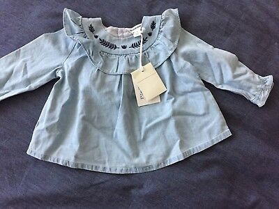 BNWT Country Road Frill Detail Top - 6-12 months / Size 0