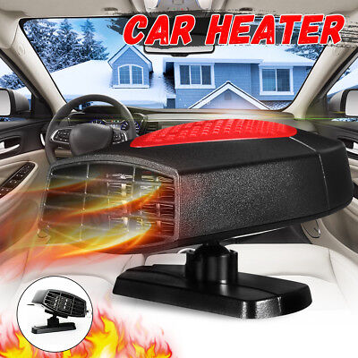 12V 300W Car Auto Heater Cooler Dryer Demister Defroster 2 in 1Hot Warm Fan