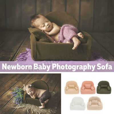 4Pcs Newborn Baby Photography Props Soft Sofa Chair Seat Backdrop Girls