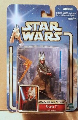 STAR WARS JEDI MASTER SHAAK TI FIRST RELEASE FIGURE action figure