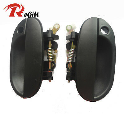 For 95-99 Hyundai Accent Outside Exterior Driver Front Left Right Door Handle