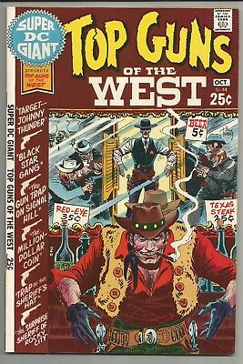 Super Dc Giant No. S-14 Oct. 1970 Top Guns Of The West  Dc Comics  Fn-Vf