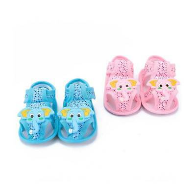 Summer Cute Cartoon Elephant Pattern Soft Sole Shoes Toddler Sandals for Baby