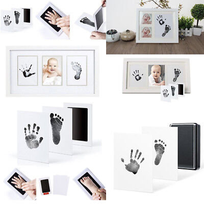 NEW Inkless wipe hand and foot print kit baby keepsake