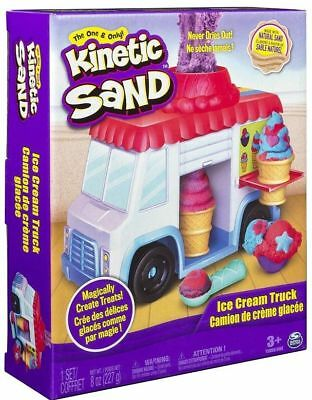 🚛 Fast Shipping! {NEW} Kinetic Sand Ice Cream Truck Sand Truck Molds And More!