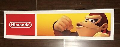 Toys R Us Exclusive Donkey Kong Double Sided Nintendo Store Sign Display