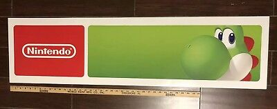 Toys R Us Exclusive Yoshi Double Sided Nintendo Store Sign Display