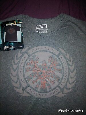 NEW Loot Crate Loot Wear EXCLUSIVE AGENT OF SHIELD Tee Women's XL