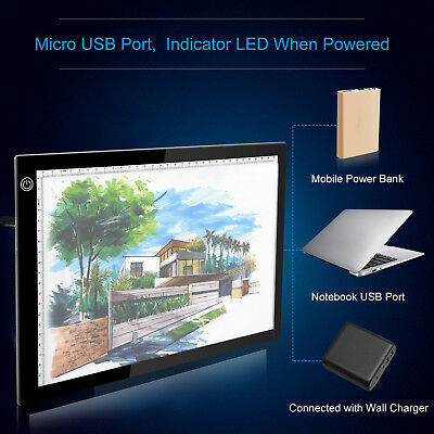 A4 ULTRA-THIN DRAWING Table LED Light Graphic Tablet Painting