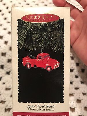 "Keepsake Ornament 1956 Ford Truck ""All American Trucks"" Collection 1995"