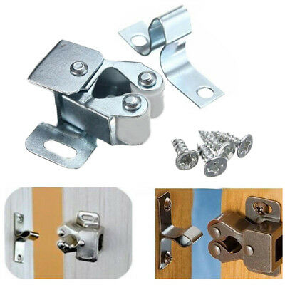 10Pcs Home Door Cabinet Cupboard Furniture Magnetic Catch Stopper Roller Latch