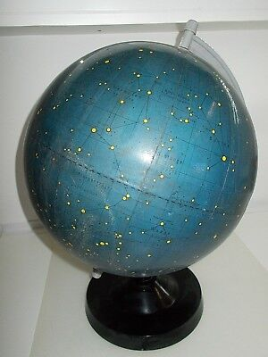 Vintage CELESTIAL STAR MAP GLOBE Star Constellation Space Classroom science 70's