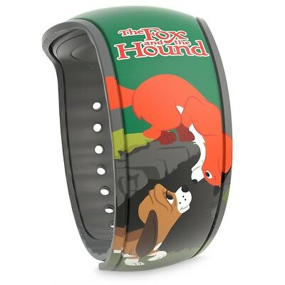 Disney Parks The Fox & The Hound Limited Release Magicband 2 Magic Band 2 NEW