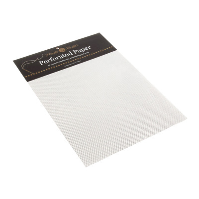 Mill Hill White Perforated Paper 9 x 12 Inches