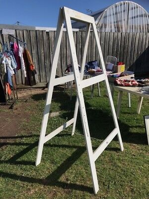 Artists Easel Or Display Easel - Three In Total