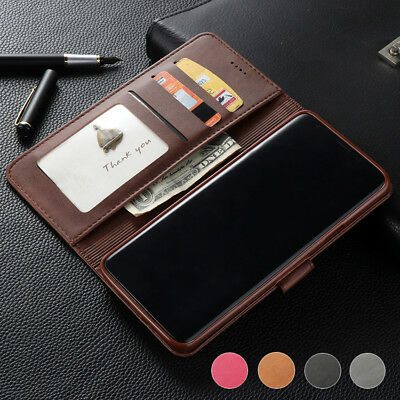 Luxury Flip Leather Wallet Case Cover Stand for Samsung Galaxy S7 S8 S9+ Note8/9