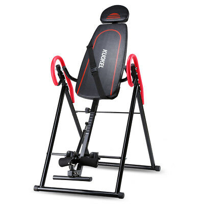Collasible Inversion Table Back Therapy Fitness Reflexology Chiropractic Table