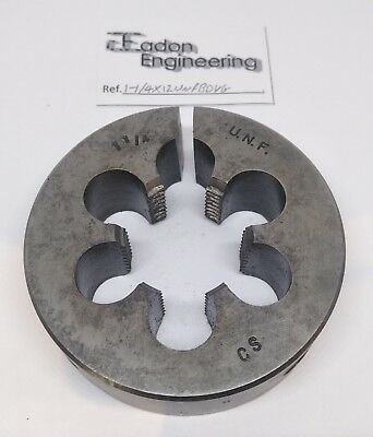 "1 1/4"" x 12TPI UNF (Unified National Fine) Button Die, CS. By top brands."