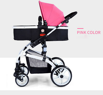 Luxury Baby Jogger Stroller Folding Baby Carriage High Landscape Sit  Lie