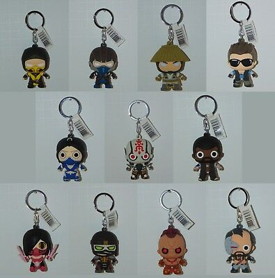 Monogram MORTAL KOMBAT X Figural Keyrings Collectible 3D Keychains MK MKX Chase