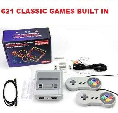 621 Games in 1 Classic Mini Game Console for NES Retro TV Gamepads Nintendo