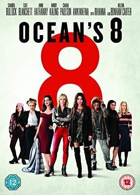 Ocean's 8 [DVD] [2018] - Region 2 UK
