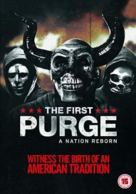 The First Purge [DVD] [2018] - Region 2 UK