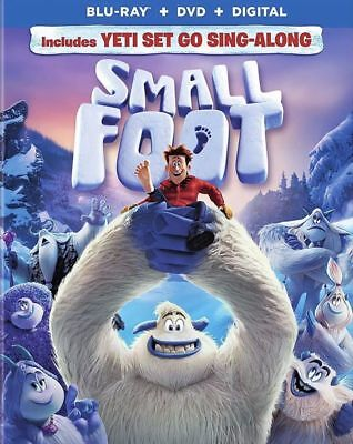 Smallfoot 2018 (Blu-Ray + DVD + Digital Copy) With Slip Cover