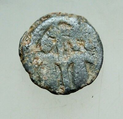 Ancient Byzantine Lead Seal  D=17mm 3gr.