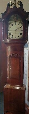 Antique Grandfather Clock by P & T Ness of Kirby Moorside. - Delivery arranged