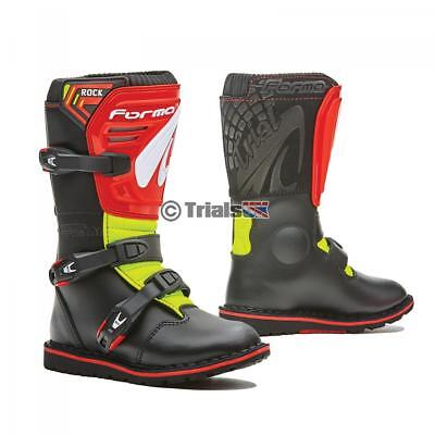 Forma Rock Kids Trials Boot - Black/Red/Yellow - Junior/Youth/Kids